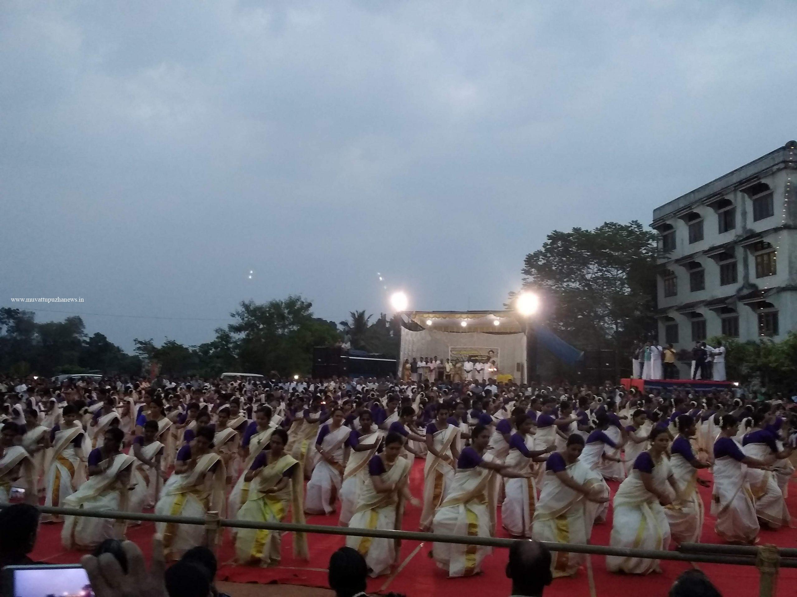 Photo of മെഗാ തിരുവാതിര നടന്നു