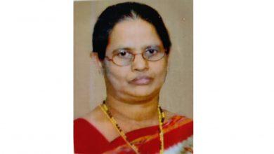 Photo of മുളവൂര് മൂലേമാരിപീടികയില് പരേതനായ എം.ടി. വര്ഗീസിന്റെ ഭാര്യ എല്സി വര്ഗീസ് (62) അന്തരിച്ചു.