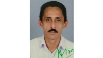 Photo of കോടതി ജീവനക്കാരന്റെ മൃതദേഹം കനാലില് കണ്ടെത്തി.