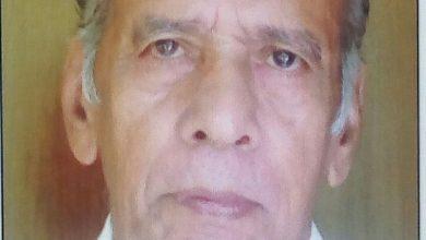 Photo of കാവക്കാട് ശൗര്യംമാക്കൽ സി യു മാത്യു ( 82 ) നിര്യാതനായി.