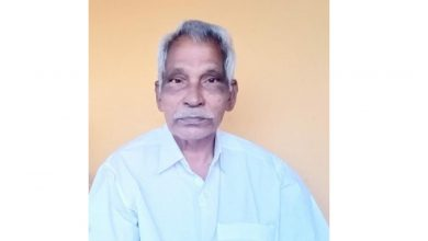 Photo of റാക്കാട് പുല്ലിട്ടേൽ പി.വി മാണി (79)നിര്യാതനായി.